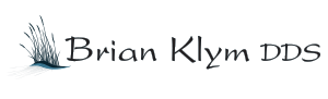 Black ink logo of Brian Klym DDS