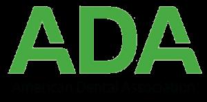 Green logo of American Dental Association